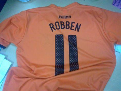 Will have to update my Oranje shirt!