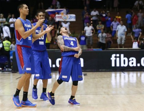 FINALLY! A win for the Philippines vs. Senegal in Alapag's final game for Gilas with his final shots ensured the lone victory is achieved by the Philippines in FIBA 2014.