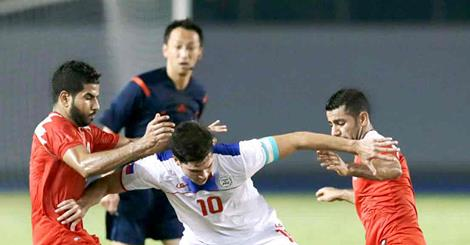 Phil Younghusband in his new midfield role